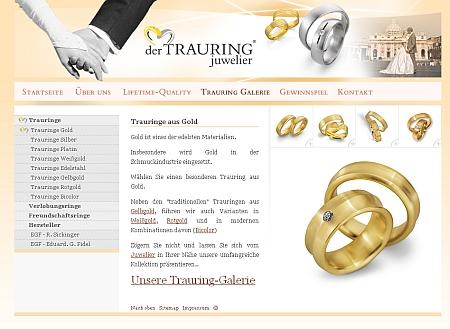 Trauringe, Eheringe, Hochzeitsringe vom Fachhandel