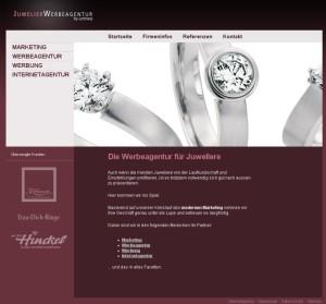 Werbung, Marketing und Internetagentur für Juweliere und Schmuckhersteller