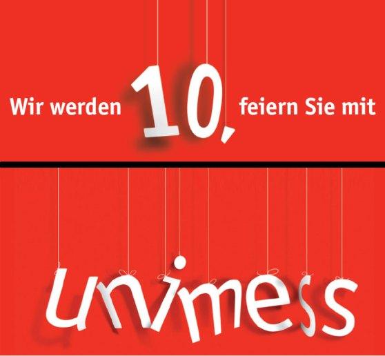 Jubiläumsbild unimess GmbH, Ulm