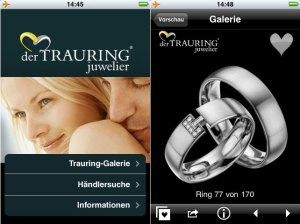 iPhone-App Trauringe - derTRAURINGjuwelier