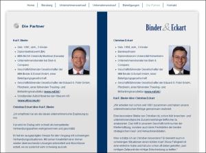 Beratungsgesellschaft Binder und Eckart