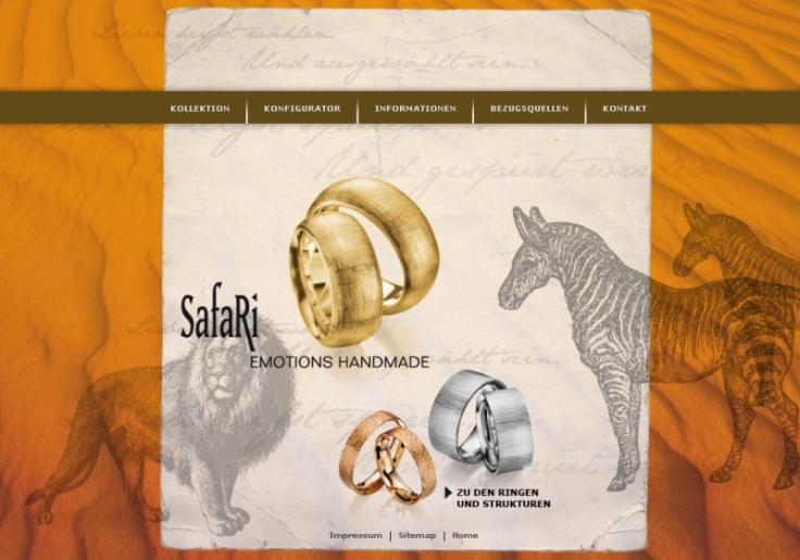 Safari Trauringe