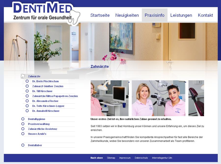 Zentrum für orale Gesundheit Dentimed in Bad Homburg
