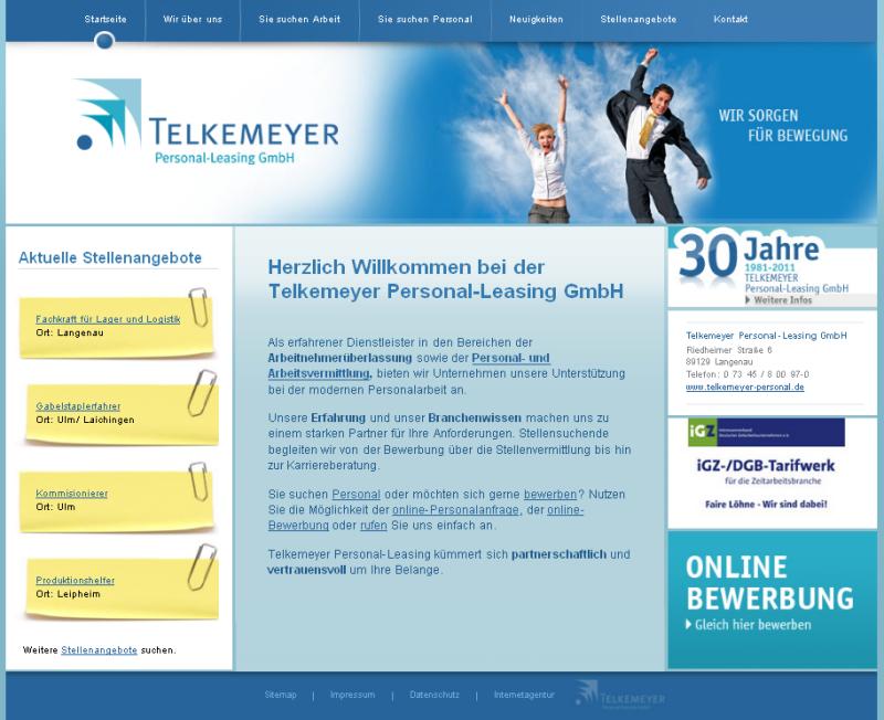 Personalleasing Langenau