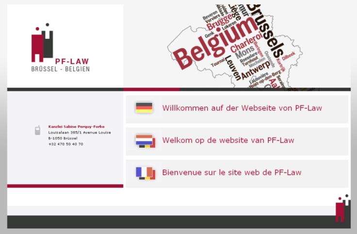 Rechtsanwalt Belgien