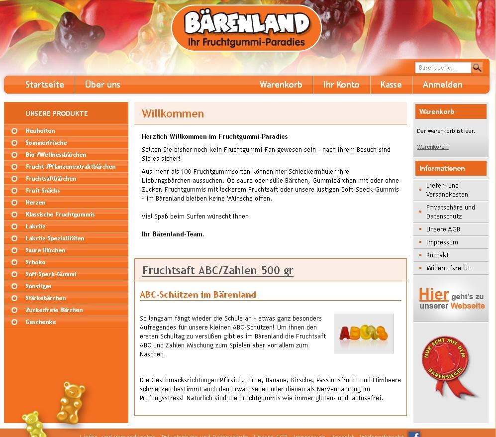 Gummibärchen online kaufen