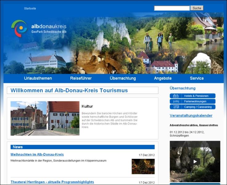 Tourismusverband Alb-Donau