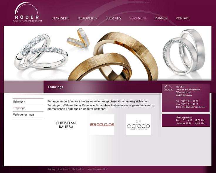 Juwelier / Trauringe Nürnberg