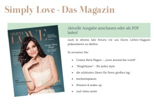 Simply Love Magazin
