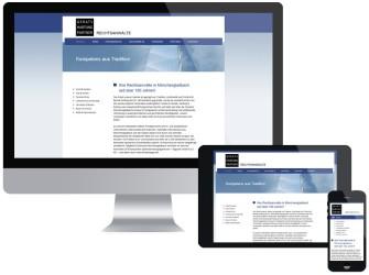 Beispiel responsive Webdesign