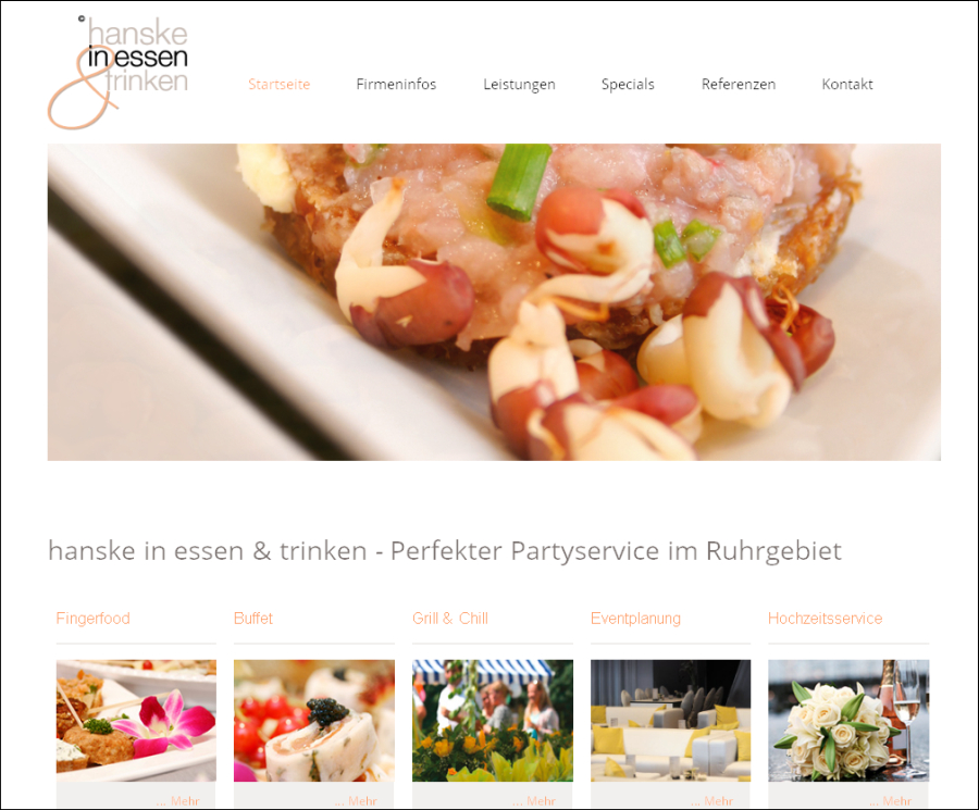 Partyservice / Catering Essen
